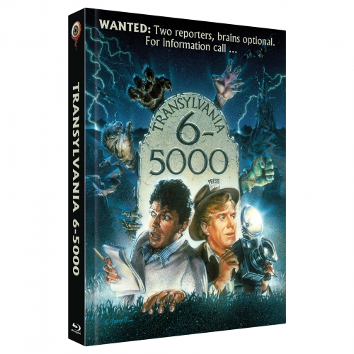 Transylvania 6-5000 (2-Disc Collector's Edition Nr. 28) [Limited Edition Mediabook Cover A, 555 Stück]