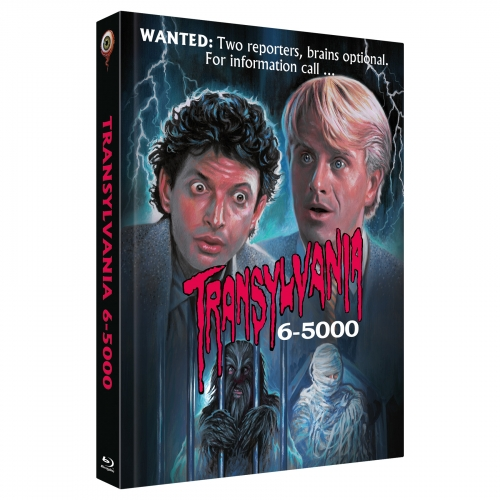 Transylvania 6-5000 (2-Disc Collector's Edition No. 28) [Limited Edition Mediabook Cover A, 333 units]