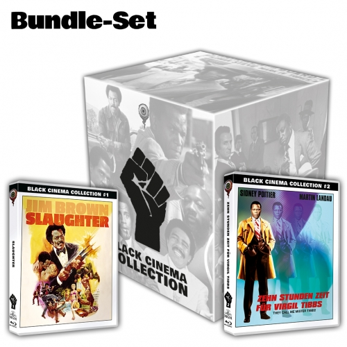 BC-Bundle: Slaughter & They Call Me Mister Tibbs (Black Cinema Collection #01 + #02) [incl. Slipcase box]