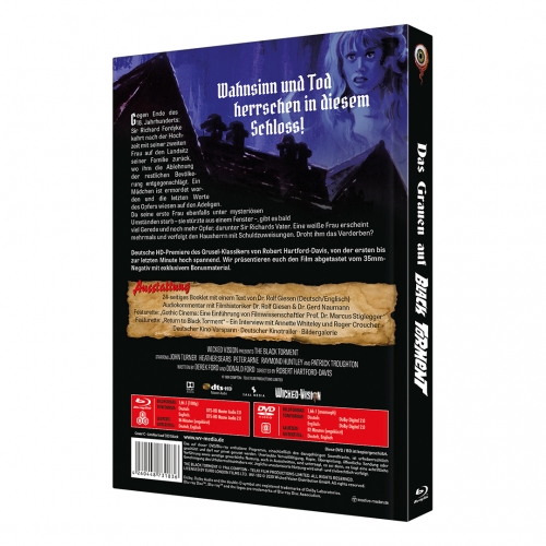 The Black Torment (2-Disc Limited Collector's Edition No. 35) [Mediabook, Cover C, Limited to 333 Units)