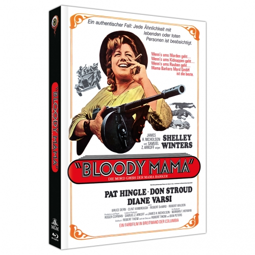 Bloody Mama (2-Disc Limited Collector's Edition Nr. 42) [Mediabook, Cover A, Limitiert auf 444 Stück]