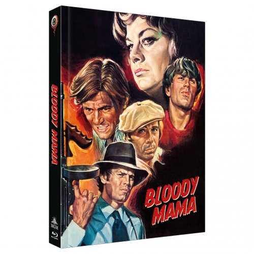 Bloody Mama (2-Disc Limited Collector's Edition Nr. 42) [Mediabook, Cover B, Limitiert auf 333 Stück]