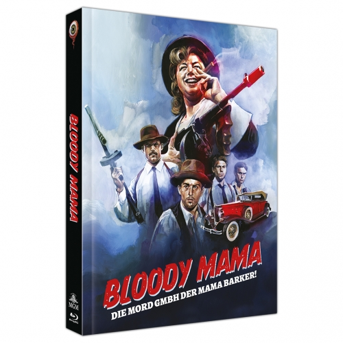 Bloody Mama (2-Disc Limited Collector's Edition Nr. 42) [Mediabook, Cover C, Limitiert auf 333 Stück]