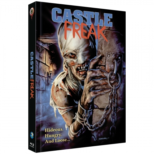 Castle Freak (Full Moon Collection No. 3) [Blu-ray & Soundtrack CD / Mediabook]