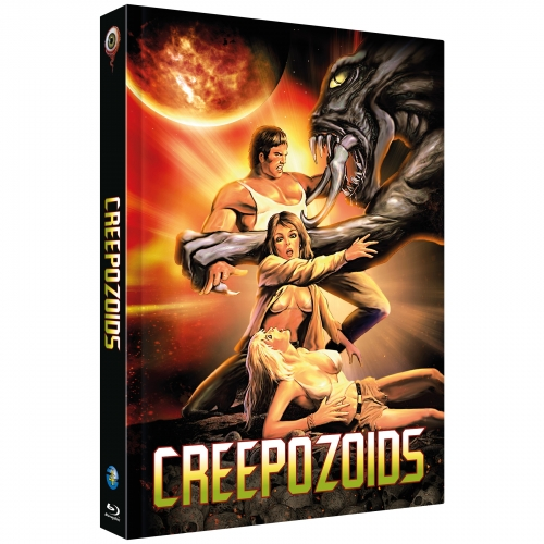 Creepozoids (Full Moon Collection No. 4) [Cover A, Limited to 222 units] incl. Bonusfilm: Shadowzone
