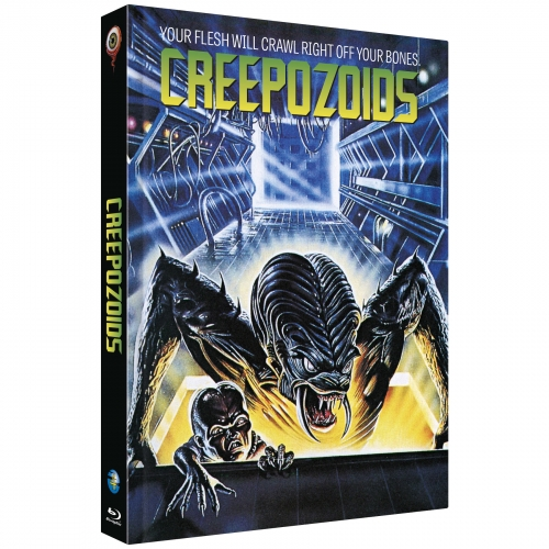 Creepozoids (Full Moon Collection No. 4) [Cover B, Limited to 222 units] incl. Bonusfilm: Shadowzone
