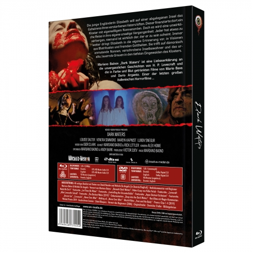 Dark Waters (3-Disc Collector's Edition No. 27) [Limited Edition Mediabook Cover A, 333 Units]