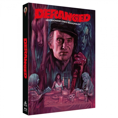 Deranged (2-Disc Collector's Edition Nr. 26) [Limited Edition Mediabook Cover B, 222 Stück]