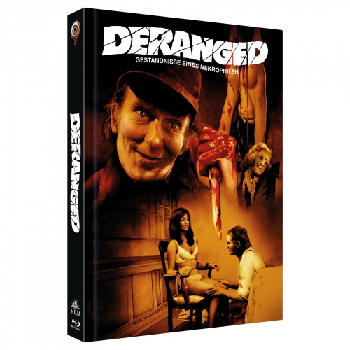Deranged (2-Disc Collector's Edition No. 26) [Limited Edition Mediabook Cover C, 222 units]
