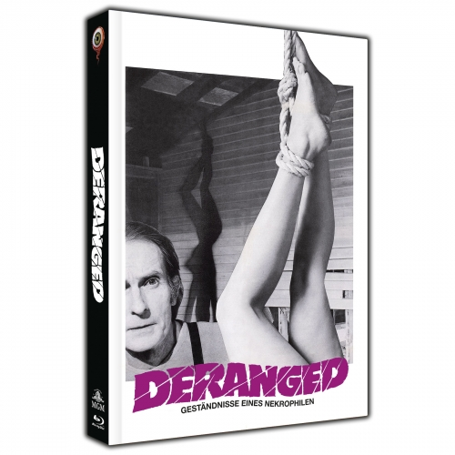 Deranged (2-Disc Collector's Edition Nr. 26) [Limited Edition Mediabook Cover A, 444 Stück]