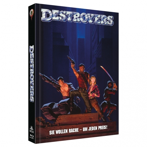 Destroyers (2-Disc Limited Collector's Edition Nr. 36) [Mediabook, Cover B, Limitiert auf 222 Stück)