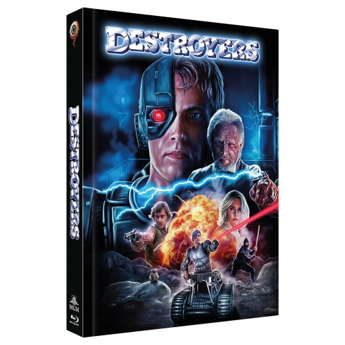 Destroyers (2-Disc Limited Collector's Edition Nr. 36) [Mediabook, Cover C, Limitiert auf 222 Stück)