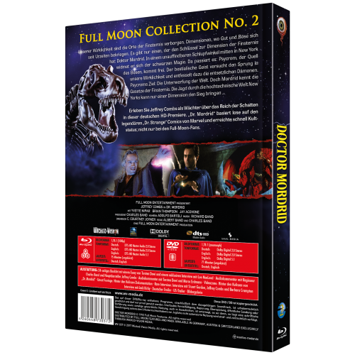 Doctor Mordrid (Full Moon Collection No. 2, 2-Disc Mediabook) [Cover C]