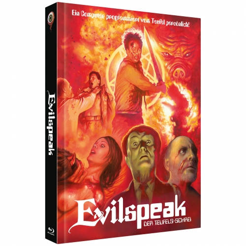 Evilspeak: Remastered (2-Disc Collector's Edition No. 21) [Cover B - Limited to 222 units]