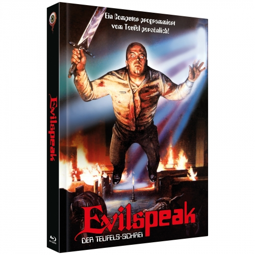 Evilspeak: Remastered (2-Disc Collector's Edition No. 21) [Cover C - Limited to 222 units]
