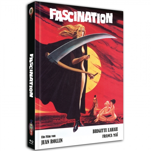 Fascination (Jean Rollin Collection No. 7) [2-Disc Mediabook-Edition, Cover A, Limited to 500 units]