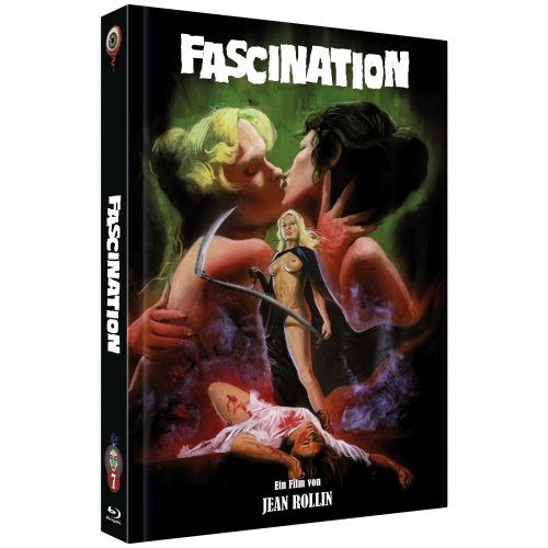 Fascination (Jean Rollin Collection Nr. 7) [2-Disc Mediabook-Edition, Cover C, Limitiert auf 300 Stück]