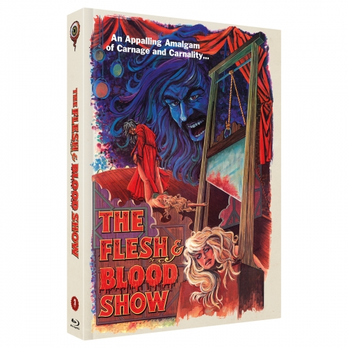 The Flesh and Blood Show (Pete Walker Collecton  No. 3) [2-Disc Uncut 444 Edition, Cover A]