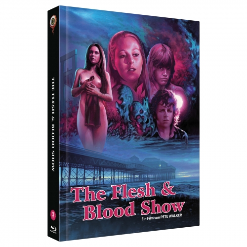 The Flesh and Blood Show (Pete Walker Collecton  No. 3) [2-Disc Uncut 222 Edition, Cover B]