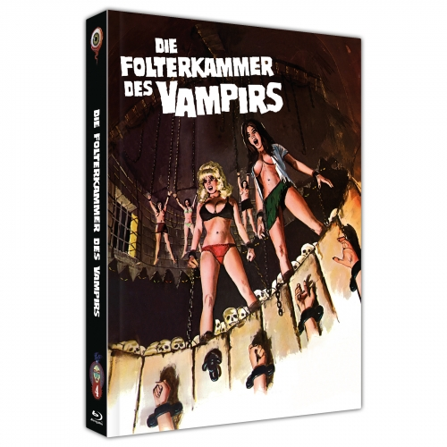 Die Folterkammer des Vampirs (Jean Rollin Collection Nr. 4) [2-Disc Mediabook-Edition, Cover A]
