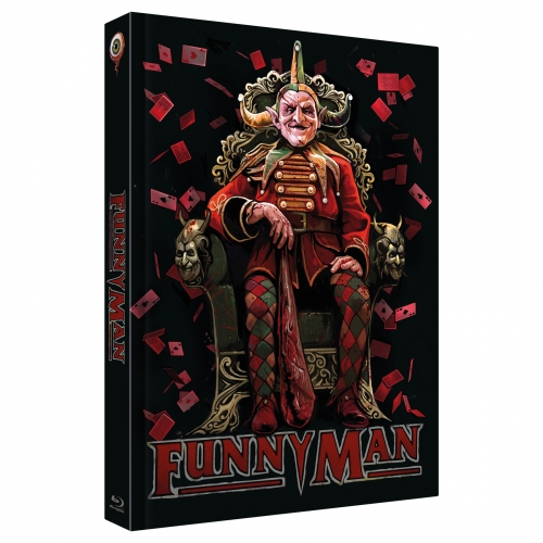 Funnyman (4-Disc Limited Collector's Edition Nr. 33) [Mediabook - Cover C, Limitiert auf 333 Stück)