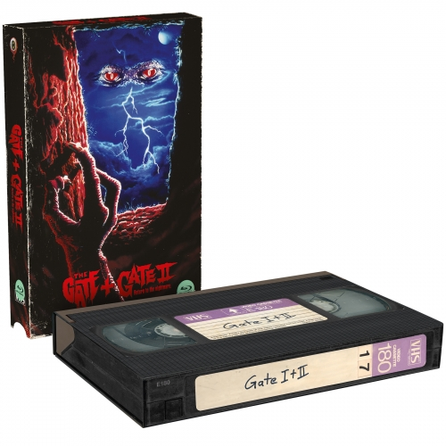 Gate 1 & 2 (Double Feature) [2-Disc-Set, VHS-Retro-Edition, Cover B, Limitiert auf 500 Stück]