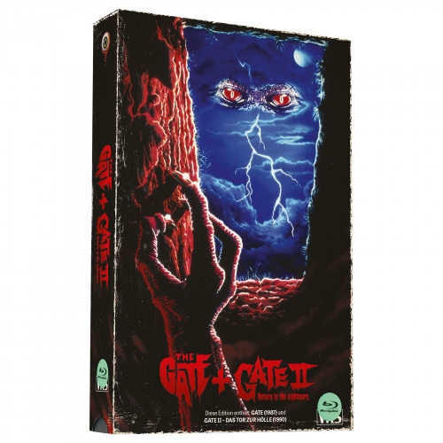 Gate 1 & 2 (Double Feature) [2-Disc-Set, VHS-Retro-Edition, Cover B, Limited to 500 units]
