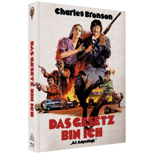 Das Gesetz bin ich (2-Disc Collector's Edition Nr. 11) [Cover B]