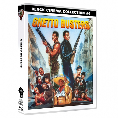 Ghetto Busters (Black Cinema Collection #04) [2-Disc Set]