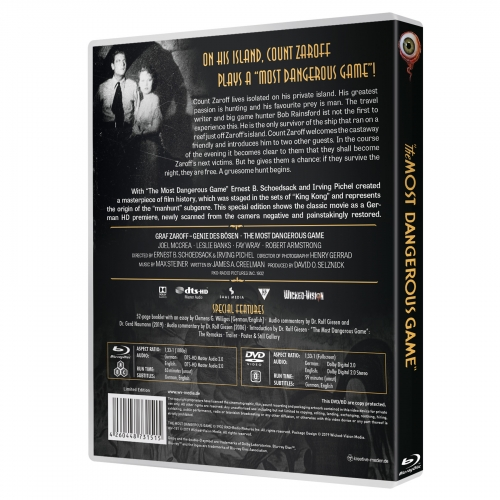 The Most Dangerous Game (2-Disc Limited Special Edition) [Limited to 1000 units]