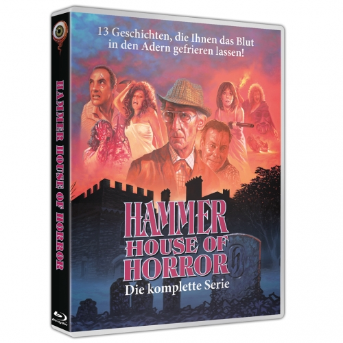 Hammer House of Horror (3-Disc-Set) [inkl. Doku: Flesh and Blood: Hammer Heritage of Horror]