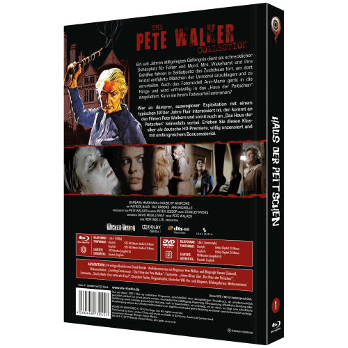 House of Whipcord (Pete Walker Collection No. 1) [2-Disc Edition, Cover C]