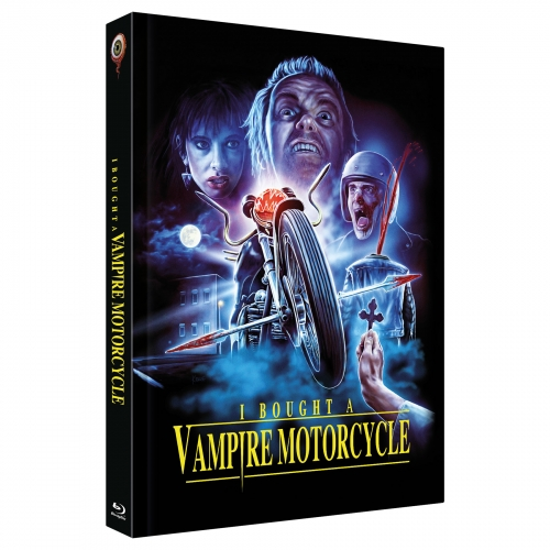 I bought a Vampire Motorcycle (2-Disc Limited Collector's Edition No. 32) [Cover C, Limited to 222 units) - SHOP EXCLUSIVE SIGNED BY ARTIST RALF KRAUSE