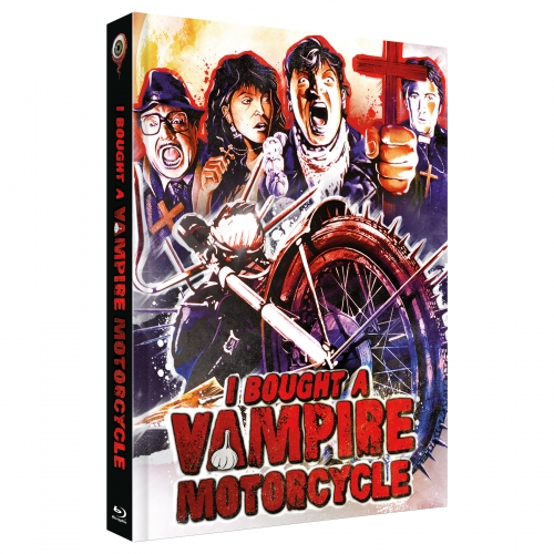 I bought a Vampire Motorcycle (2-Disc Limited Collector's Edition No. 32) [Cover D, Limited to 222 units)