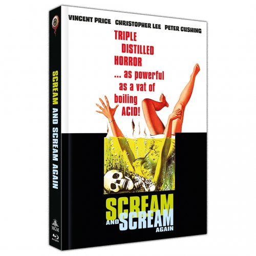 Scream and Scream Again (2-Disc Limited Collector's Edition Nr. 44) [Cover A, Limited to 333 units]