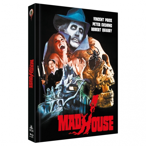Madhouse (2-Disc Limited Collector's Edition No. 40) [Mediabook, Cover A, Limited to 333 units]