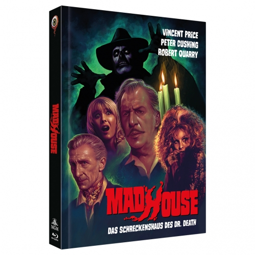 Madhouse (2-Disc Limited Collector's Edition No. 40) [Mediabook, Cover B, Limited to 333 units]