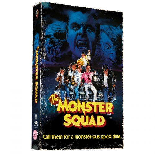 Monster Busters (2-Disc Limited VHS-Retro-Edition) [Cover B, Limitiert auf 500 Stück)