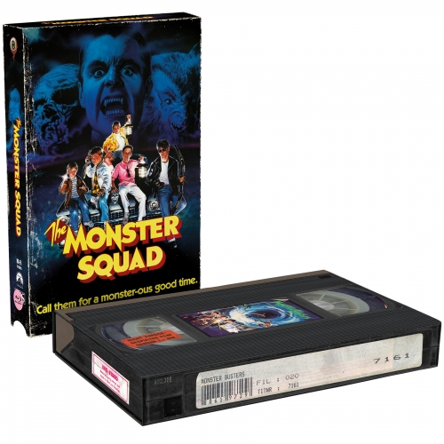 Monster Squad  (2-Disc Limited VHS-Retro-Edition) [Cover B, Limited to 500 units)