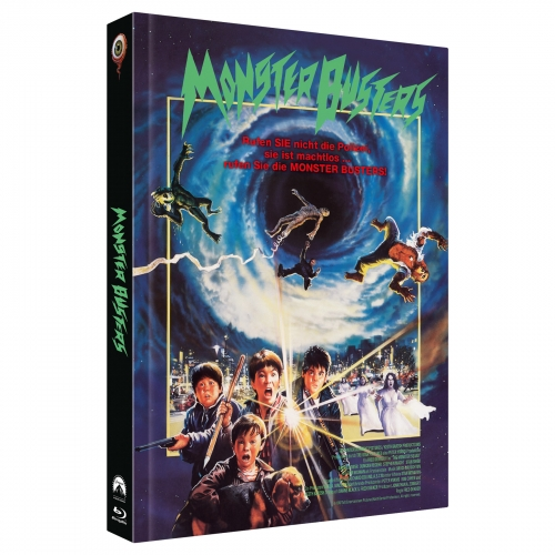 Monster Busters (3-Disc Limited Collector's Edition Nr. 30) [Cover A, Limitiert auf 444 Stück)