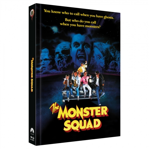 Monster Busters (3-Disc Limited Collector's Edition Nr. 30) [Cover C, Limitiert auf 222 Stück)