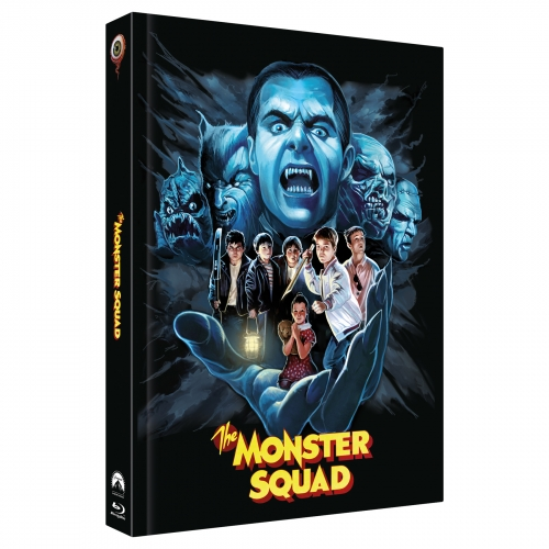 Monster Squad (3-Disc Limited Collector's Edition No. 30) [Cover E, Shop-Exclusive Edition signed by artist Abrar Ajmal / 222 Edition)