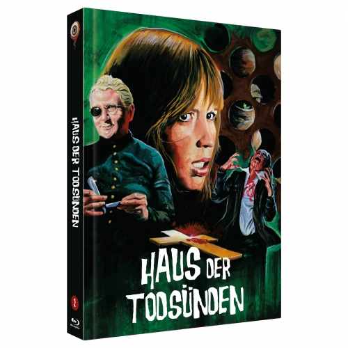 Haus der Todsünden (Pete Walker Collecton  Nr. 2) [2-Disc Uncut 222 Edition, Cover C]