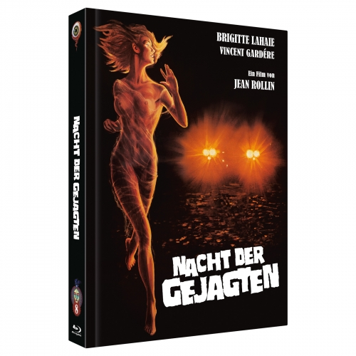 Night of the Hunted (Jean Rollin Collection No. 8) [2-Disc Mediabook-Edition, Cover A, Limited to 350 units]