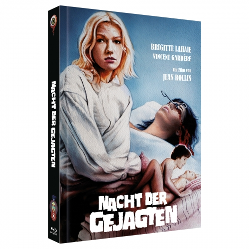 Night of the Hunted (Jean Rollin Collection No. 8) [2-Disc Mediabook-Edition, Cover B, Limited to 222 units]