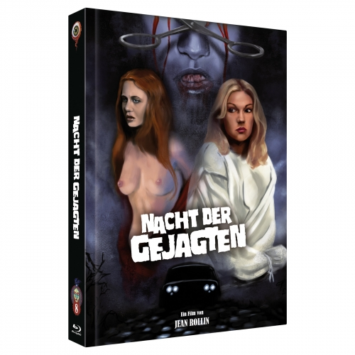 Night of the Hunted (Jean Rollin Collection No. 8) [2-Disc Mediabook-Edition, Cover C, Limited to 222 units]