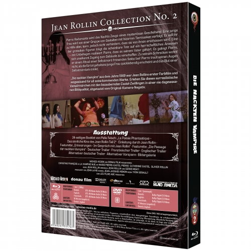 The Nude Vampire (Jean Rollin Collection No. 2) [2-Disc Mediabook-Edition, Cover B]