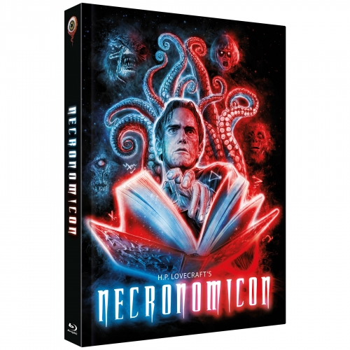 H.P. Lovecraft's Necronomicon (3-Disc Limited Collector's Edition No. 31) [Cover B, Limited to 333 Units)