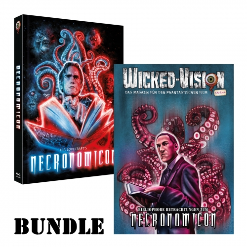 BUNDLE: Necronomicon (Mediabook, Cover B) + Wicked-Magazin: Necronomicon