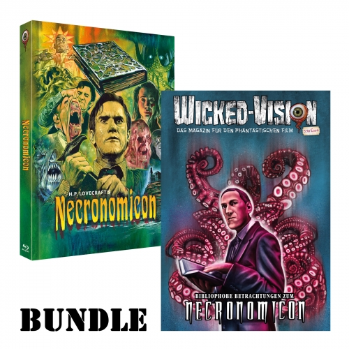 BUNDLE: Necronomicon (Mediabook, Cover C) + Wicked-Magazin: Necronomicon